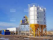 Стационарный бетонный завод СКИП -60